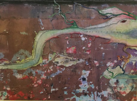The River and the Wall (92cm x 40cm)