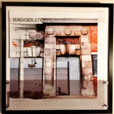 Beautiful Decay: Haggerston Baths (52cm x 52cm)