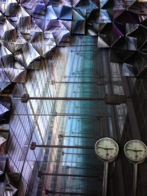 Architexture IV: Canary Wharf (detail)